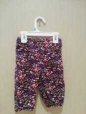 H & M baby girls spring cotton pants spring winter sz 4-6 months NWT free ship
