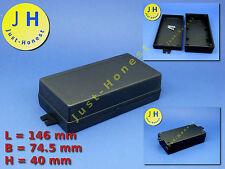 Kunststoff Gehäuse Universal  mit Befestigung 146x74x 40mm Universal Case #A41