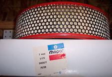 NOS MOPAR AIR CLEANER AIR FILTER PART NUMBER 2402677 1967 GTX 440 PLYMOUTH GTX