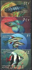 "2000 ""Grenada/Grenadines"" Fish, Pesce, Poisson complete set VF/MNH! LOOK!"