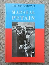 Marshal Petain Griffith Verdun World War One Vichy Nazi Collaborator France Two