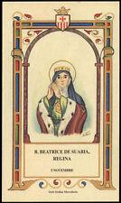 santino-holy card B.BEATRICE DE SUABIA REGINA mercedaria