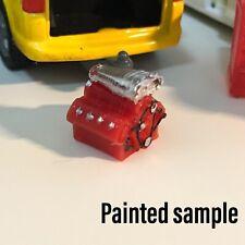 1/64 Engine Model Scale Accessory For Slotcar / Model Car Garage Workshop