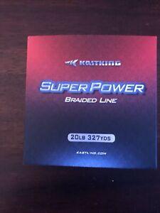 kastking braided fishing line Blue 20 Lb Test 327 Yards ,super power