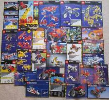 30 LEGO TECHNIC INSTRUCTION MANUALS LOT directions vintage 1980s, 1990s