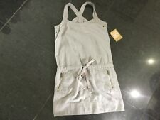 NWT Juicy Couture New & Genuine Ladies US 4, UK 8/10 Grey Cotton Pinafore Dress