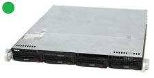 1HE Supermicro Server CSE-813M - X9SCL-F mit Intel E3-1230v2 - 8 GB RAM