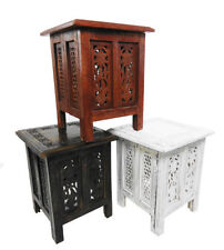 Solid Wood Asian/Oriental Side & End Tables with Flat Pack