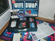 BRAND NEW & FACTORY SEALED WIFE SWAP 2in1 DVD TV SHOW TRIVIA BOARD GAME 15+