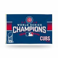 Chicago Cubs 2016 World Series Champions MLB Banner Flag 3' x 5'