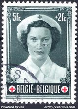 BELGIQUE N° 917 AVEC OBLITERATION