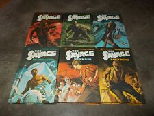 DOC SAVAGE ACTION SERIES~KENNETH ROBESON~COMPLETE 6 BOOK HARDCOVER SERIES~1975