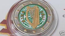 2 euro 2012 IRLANDA color EIRE Irlande Ireland Irland Ирландия arpa harp II type