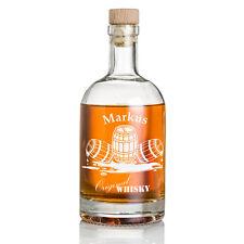 Personalisiertes Whisky Flasche inkl. Gravur Whiskyfass