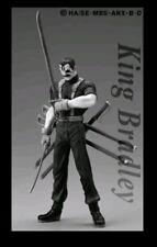 Fullmetal Alchemist Trading Arts Metallic Bradley figure ships from NJ no box