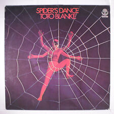 TOTO BLANKE: The Spider's Dance LP (Germany, laminated cover, small corner bend