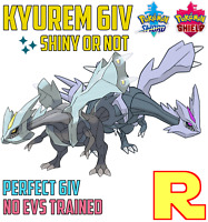 6IV KYUREM ⚔️ SHINY or NOT (+ITEM!) 🛡 POKEMON SWORD & SHIELD
