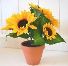 Sonnenblume Sonnenblumenstrauss pflanze Strauß DEKO Dekoblume Blume 18cm