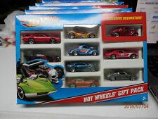 HOT WHEELS box of 9  cars