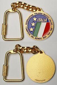 🔴ITALY  Italian Football Soccer Federation - keychain made by Bertoni Milano🔴