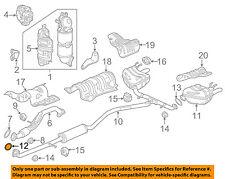 HONDA OEM Exhaust-Muffler & Pipe Gasket 18303T2BA01