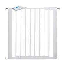 Lindam Easy Fit Plus Sicurezza Bambino Deluxe SCALA Gate-pressione Fit-Bianco-NUOVO