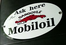 Mobil oil gargoyle sign .. gas gasoline