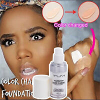 30ml TLM Color Changing Foundation Liquid Base Makeup Change To Your Skin Beauty