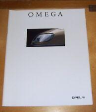 OPEL OMEGA SALOON & ESTATE SALES BROCHURE 1997 MODEL YEAR In French