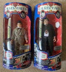 Laurel and Hardy 70th Anniversary Premiere Edition Dolls / Figures, NISB NRFB