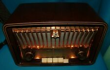 ANCIENNE RADIO TSF PHILIPS PHILETTA . A  AMPOULES réf  BD254U . BAKÉLITGEHÄUSE