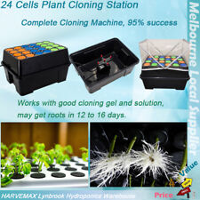 NEW  AUTOMATIC CLONING STATION 24 CELLS CLONE SYSTEM PLANT SPRAY CUTTING MACHINE