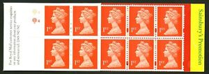Great Britain   1995   Scott # BK 1117 (SG-HD26)    Mint Never Hinged Booklet