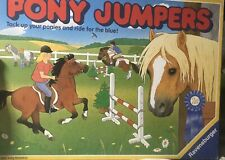 Pony Jumpers vintage Board Game 1989 Ravensburger Tack Up Your Ponies And Ride