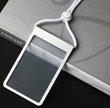 Akak Store Vertical Style Aluminum Alloy Metal ID Badge Holder ID Card Holder /w