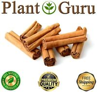 "Ceylon Cinnamon Sticks ALBA Sri Lanka Organic Cinnamomum Verum 3"" and 5"" inches"