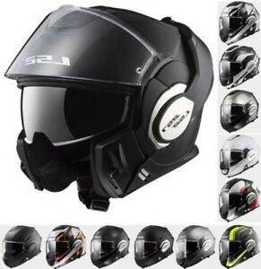LS2 FF399 Modular Flip Up Valiant Convert Road Uraban Motorcycle Bike HELMET