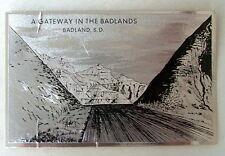 Old Foilex Postcard A Gateway In The Badlands South Dakota