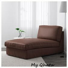 IKEA KIVIK Chaise Lounge Cover Slipcover BORRED DARK BROWN 503.429.49 NEW