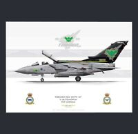 Royal Air Force Tornado GR.4 IX(B) Squadron Print A3 - Tornado Farewell