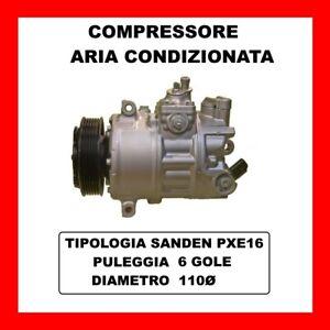 Klimakompressor 13718 VW Polo 1.2 TSI Von 2014 KW81 CV110 Cjzd
