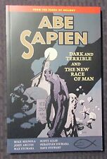 2013 ABE SAPIEN Dark And Terrible & New Race of Men SC SIGNED NM 9.4 Dark Horse