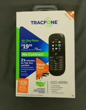 Tracfone Alcatel One Touch A205G Cellular Phone Handsfree Kit & Car Bundle NEW