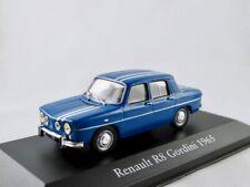 Renault R8 Gordini    1964-1967  blau   /    IXO/Atlas   1:43