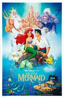 """The Little Mermaid Movie Poster 1989 24/"""" x 36/"""" or 27/"""" x 40/"""""""