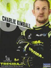 2017 Charlie Kimball Novo Nordisk Tresiba Honda Dallara Indy Car postcard