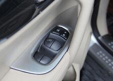 4pcs Matt interior door covers armrest trim For Nissan Rogue X-Trail 2014-2016