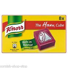 Knorr JAMÓN STOCK CUBOS.. 3 x paquetes de 8...!! envío A Todo El Mundo
