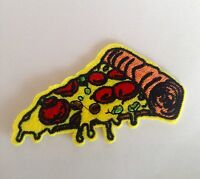 PIZZA EMBROIDERED IRON ON PATCH 🍕 Scrapbooking, Chef, Food, Takeaway, Italian,