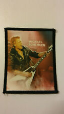 The Michael Schenker Group MSG PHOTO group music patch Sew On